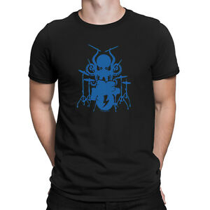 Mens-Funny-OCTOPUS-DRUMMER-Drum-Drumming-Music-T-Shirt-Instrument-Sticks