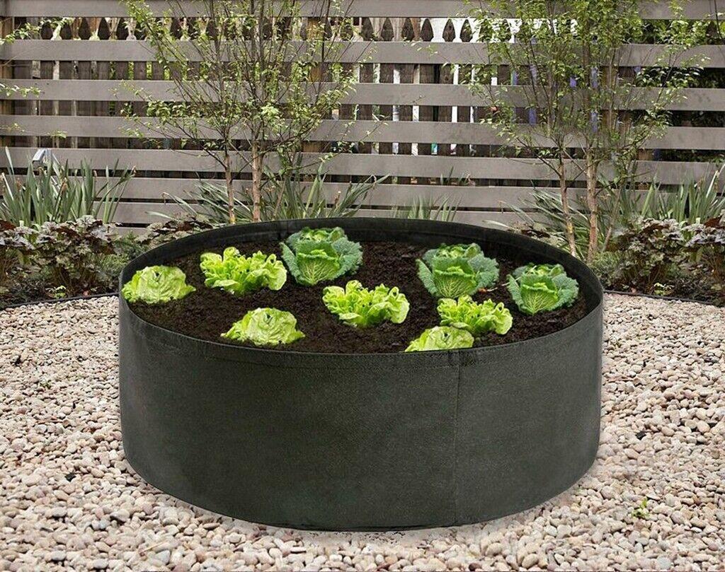 Extra Large 90 Gallon Grow Bag Thickened Non-Woven Fabric Green Pot Plant Garden