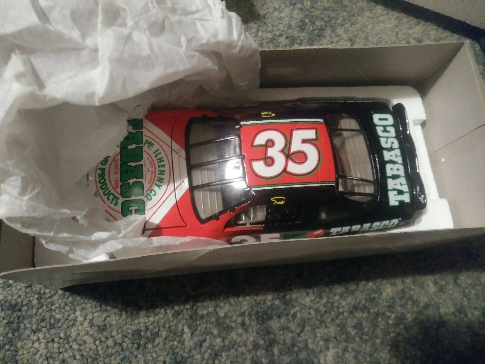 Todd Bodine Tobasco Collector Di-Cast Car