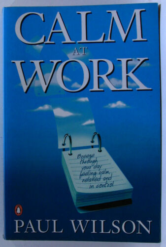 1 of 1 - #JJ2, Paul Wilson CALM AT WORK, SC GC