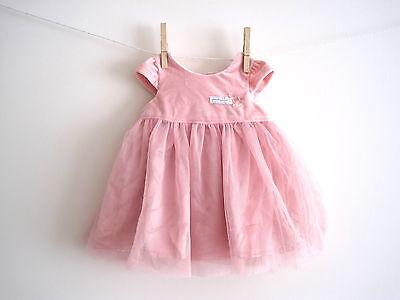 new baby girls humphreys corner dress age 0-3 3-6 6-9 9-12 12-18 party christmas