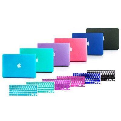 Hard Rubberized Case + Keyboard Cover for Mac Macbook Pro 13 13.3 inch A1278