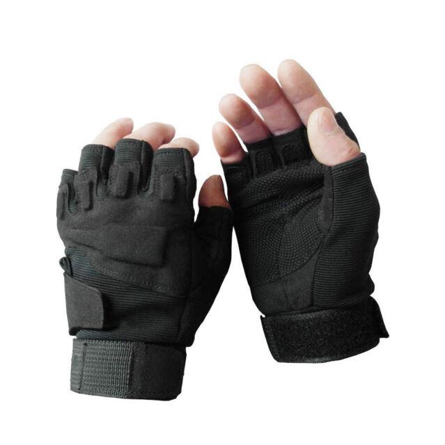 Спортивные перчатки на пол-пальца для военных и тактических игр Cycling Gloves