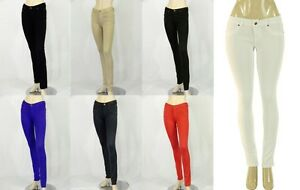 fcc8339781963 LOT NEW SKINNY PANTS Ponte Knit Slim Fit Stretch JEGGINGS TROUSERS ...