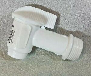 "3//4/"" Plastic Spigot Faucet Standard Pipe Thread 5 Gallon Buckets Tubs 1//2 Turn"