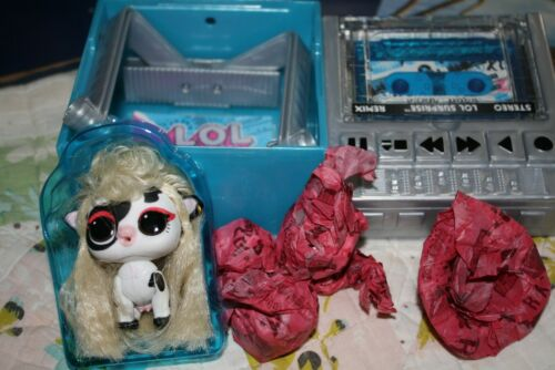 *BRAND NEW* BUILD A BOOMBOX WITH DOLL LOL Surprise CREW Remix pet COUNTRY COW