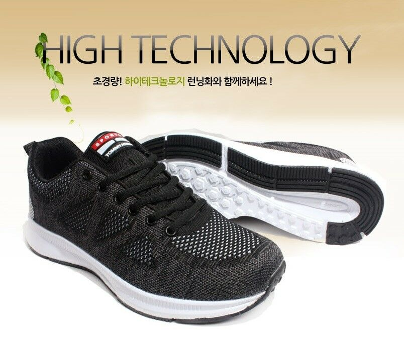 9ed296a5c513a Mens Males Athletic Sports Sneakers Outdoor Running Jogging Jogging Jogging  Black Shoes 1704 c51d4f