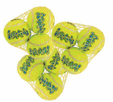 Kong AIR DOG 3-PACK Small Squeaker Tennis Balls - Dog Fetch Toys (AST3) 3 PACK