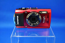 Olympus Stylus TOUGH TG-4 Red 16MP Waterproof Digital Camera From Japan New