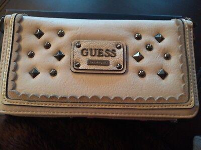 Details zu Guess portemonnaie Beige