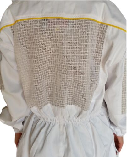 """OZ ARMOUR BEEKEEPING SUIT /""""PREMIUM/"""" SEMI VENTED HEAVY DUTY WITH OPTIONAL GLOVES"""