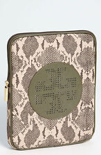 "$135 NWT Authentic TORY BURCH ""BILLIE"" Nylon Leather IPAD Tablet Sleeve"