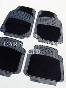 I-adapte-a-VAUXHALL-ADAM-voiture-de-luxe-Tapis-2210-BLACK-Ensemble-4-pieces
