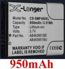Batterie 950mAh type AB463651BE AB463651BU Pour Samsung GT-B3410 Star Qwerty