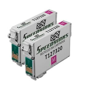 2pk-Extra-HY-Magenta-Ink-Cartridge-for-Epson-127-Workforce-WF-3540-WF-7010-T127