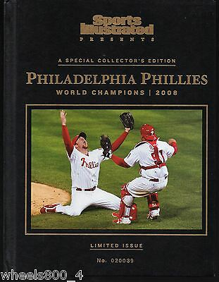 Sports Illustrated 2008 Philadelphia Phillies World Series Champs Hard Cover Exc
