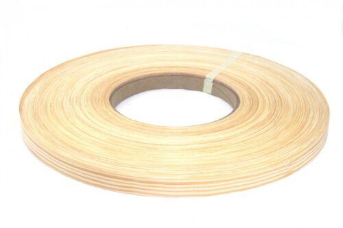 """yellow pine Pre Glued 3""""x25' wood Veneer Edgebanding"""