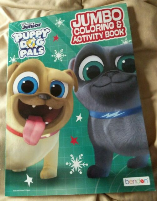 Puppy Dog Pals Jumbo Coloring And Activity Book 96 pages ...
