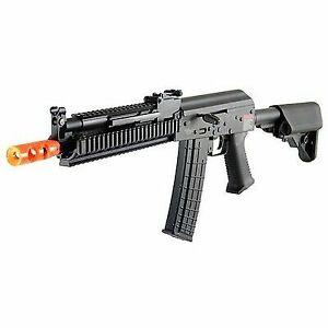 Lancer Tactical Ak47 Ris Metal Gearbox Airsoft AEG Rifle Black
