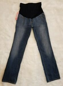 e106f368957c3 Image is loading NEW-Liz-Lange-Maternity-Target-Bootcut-Jeans-NWT-