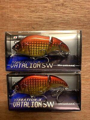 Megabass Spriggan SM-X fishing lures original assortment of colors