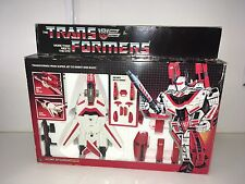 Transformers G1 Jetfire Still White MIB With Inserts 100% Complete Very Nice!