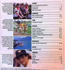 b)L'Equipe Magazine du 13/07/1985; Interview Pierre Quinon/ Baby Boum du Karaté