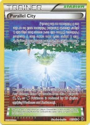 Parallel City 145//162 BREAKthrough Reverse Holo Mint Pokemon Card