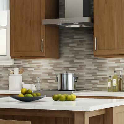 Elida Ceramica Alumina Bars Linear Mosaic Metal Wall Tile