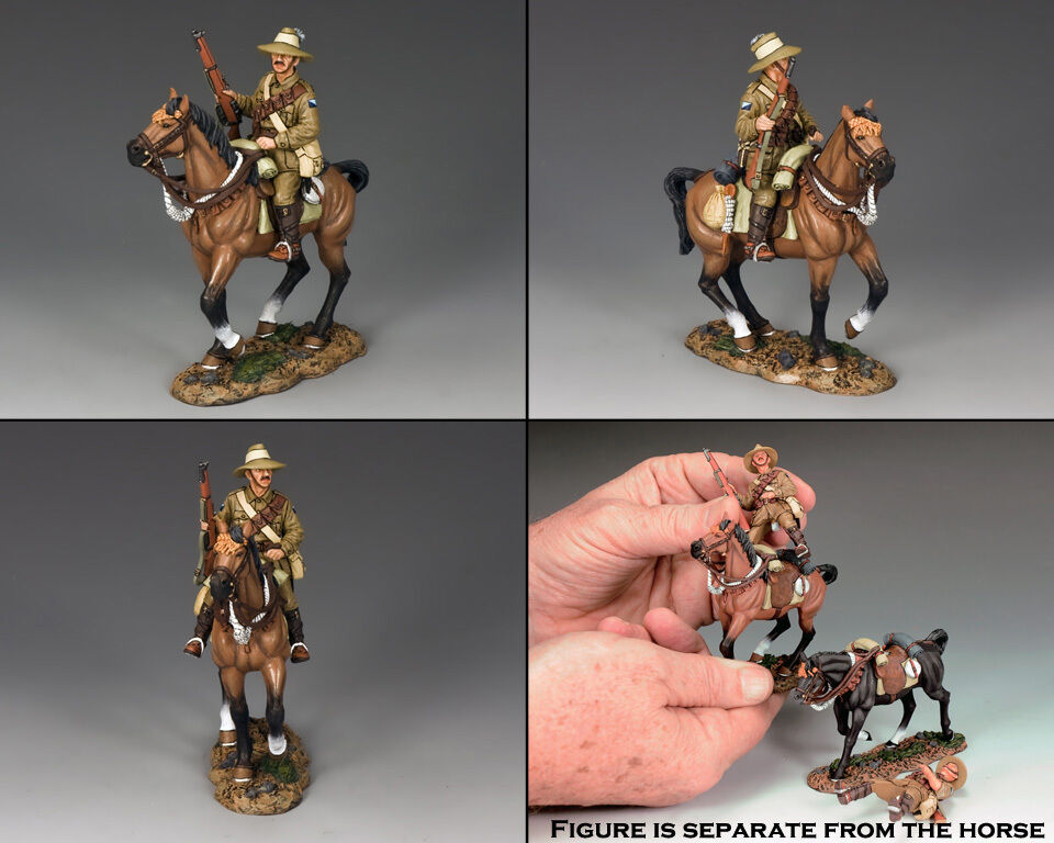 KING AND COUNTRY Australian Light Horse Trooper with Rifle Up AL62 AL062