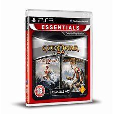 God of War Collection (1 & 2) (Essentials) PS3 Brand New PAL EU & AU Format Game
