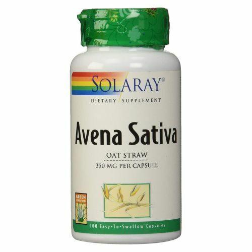 Avena Sativa 100 Caps  by Solaray