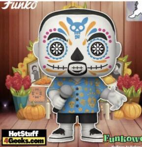 "Funko Pop Signed Gabriel ""Fluffy"" Iglesias Exclusive Day Of The Dead 01 PRE-SALE"