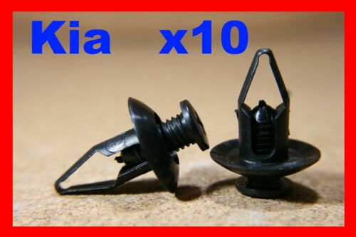 For Kia 10 fastener screw mud flaps splash guard panel wheel arch panels