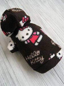 Yorki-Hello-Kitty-Hundepullover-Hundejacke-Hundebekleidung-Hundemantel-Pulli