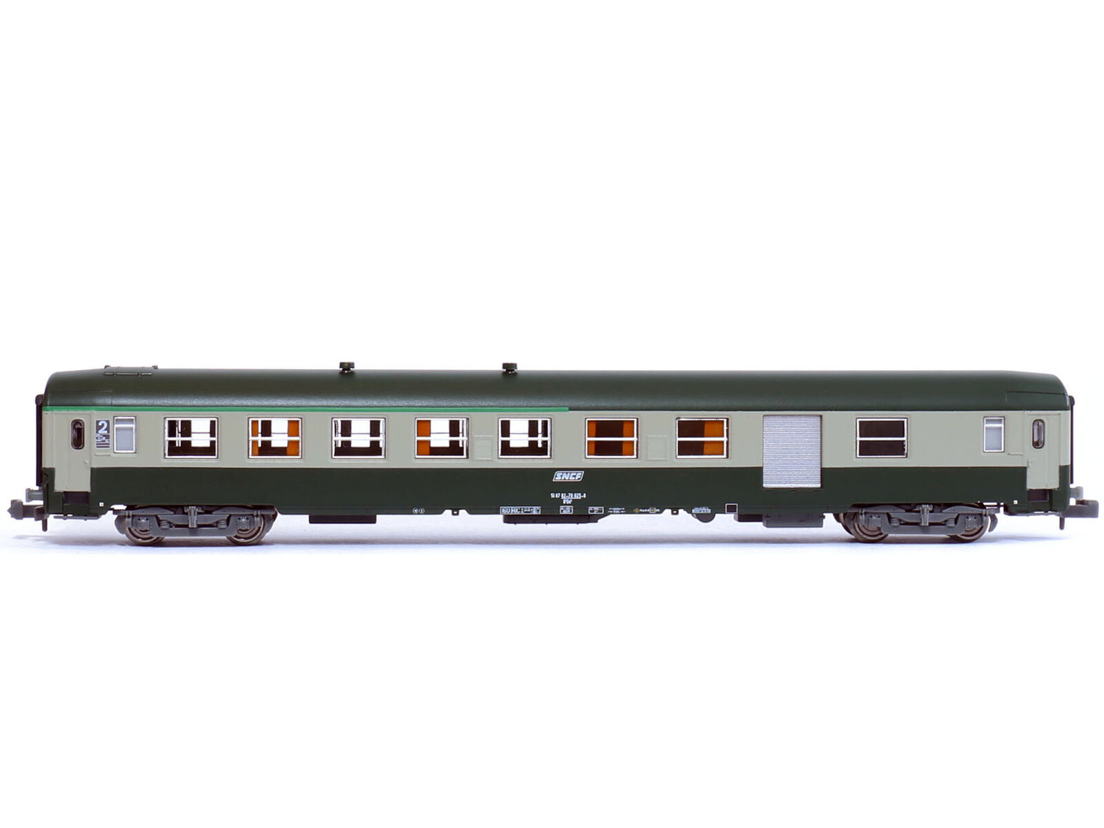 REE NW-149 - Personenwagen Schnellzugwagen UIC Corail Logo Epoche V - Spur N
