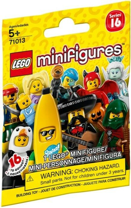 Lego Minifigure Serie 16 complete set with 16 fig fig fig OVP 3d747d