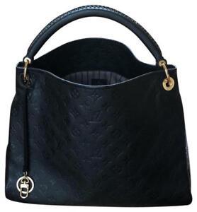db5998150724 Louis Vuitton Artsy MM Monogram Empreinte Leather Noir for sale ...