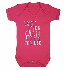 baby toddler t-shirt family grandson funny 3557 don/'t make me call grandad