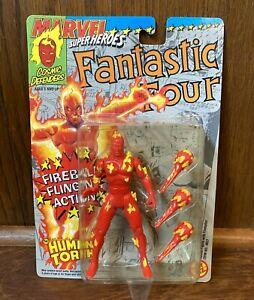 Human-Torch-Vintage-Marvel-Superheroes-Action-Figure-New-1992-Toybiz-Fantastic-4