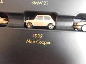 Herpa-1992-MINI-COOPER-in-oro-metallizzato-1-87-NUOVO