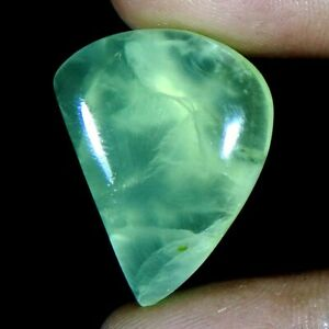 29-30Cts-Natural-Lemon-Prehnite-Fancy-Cabochon-Loose-Gemstone-Free-Shipping