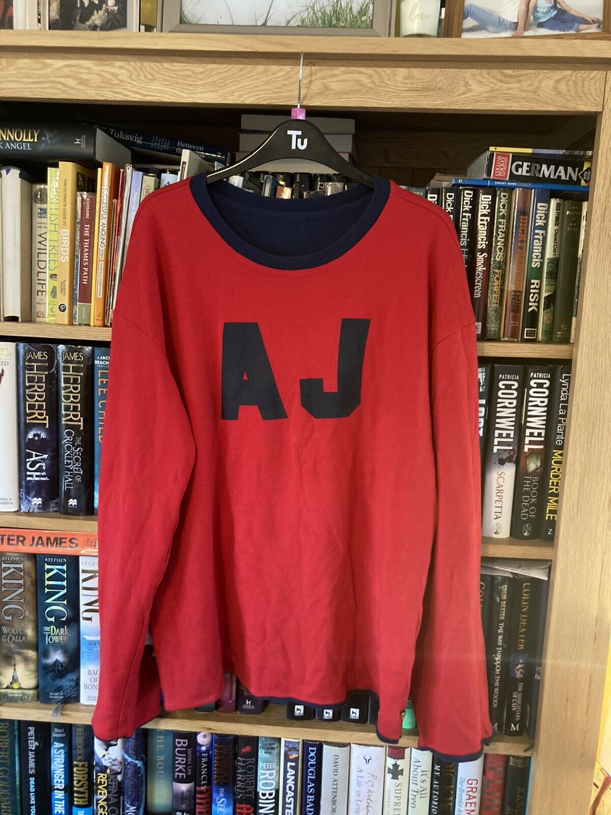 Armani Reversable Sweatshirt Size Large.(839)
