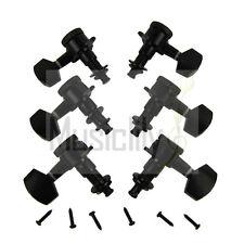 Black 3L3R Electric Guitar Locking String Machine Heads Tuning Pegs Keys Tuners