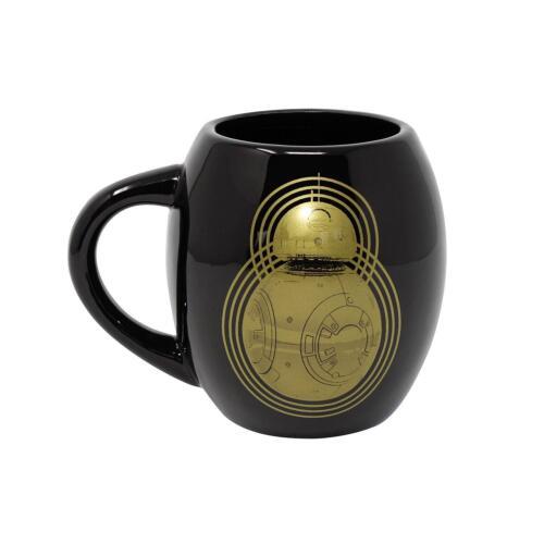 Star Wars Deluxe XXL taza droides r2d2 bb-8 negro oro-Premium vaso de lujo
