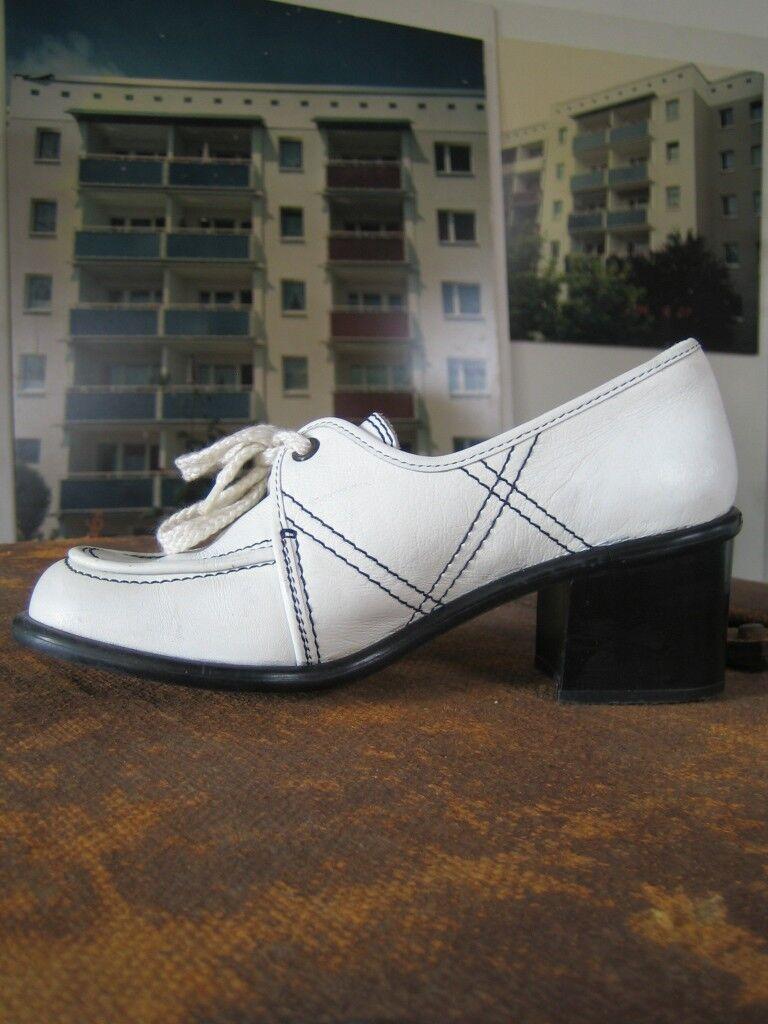 Los últimos zapatos de descuento para hombres y mujeres Descuento por tiempo limitado Schnürschuhe Schuhe Halbschuhe shoes FRASSINELLI italy 70er TRUE VINTAGE 70s