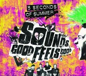 5-Seconds-of-Summer-Sounds-Good-Feels-Good-Deluxe-New-amp-Sealed-CD