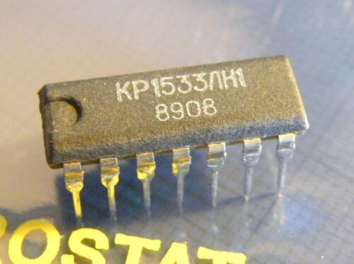 20x KR1533LN1 Hex Inverter =74ALS04