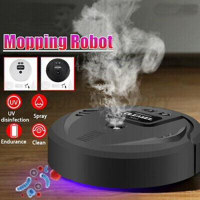 UV Disinfection Smart Sweeping Robot Vacuum Cleaner Floor Auto Suction Sweeper V