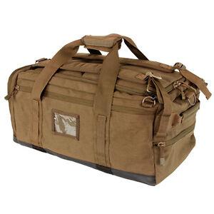 condor 111094 coyote brown centurion duffel backpack carry. Black Bedroom Furniture Sets. Home Design Ideas